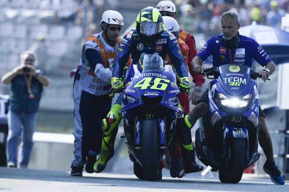 MotoGP: Red Bull Ring - Плохой день для Росси