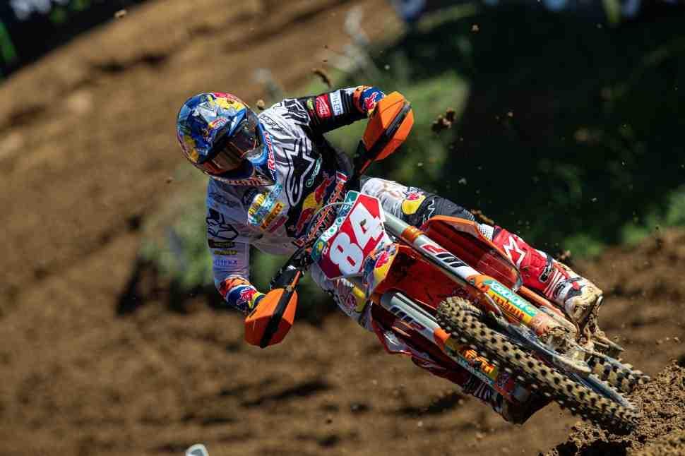 Мотокросс MXGP: видео падения Херлингса и комментарий команды KTM