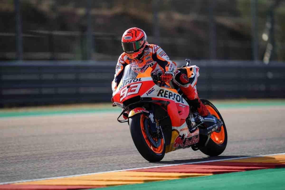 MotoGP: Марк Маркес начал AragonGP с подавляющим преимуществом