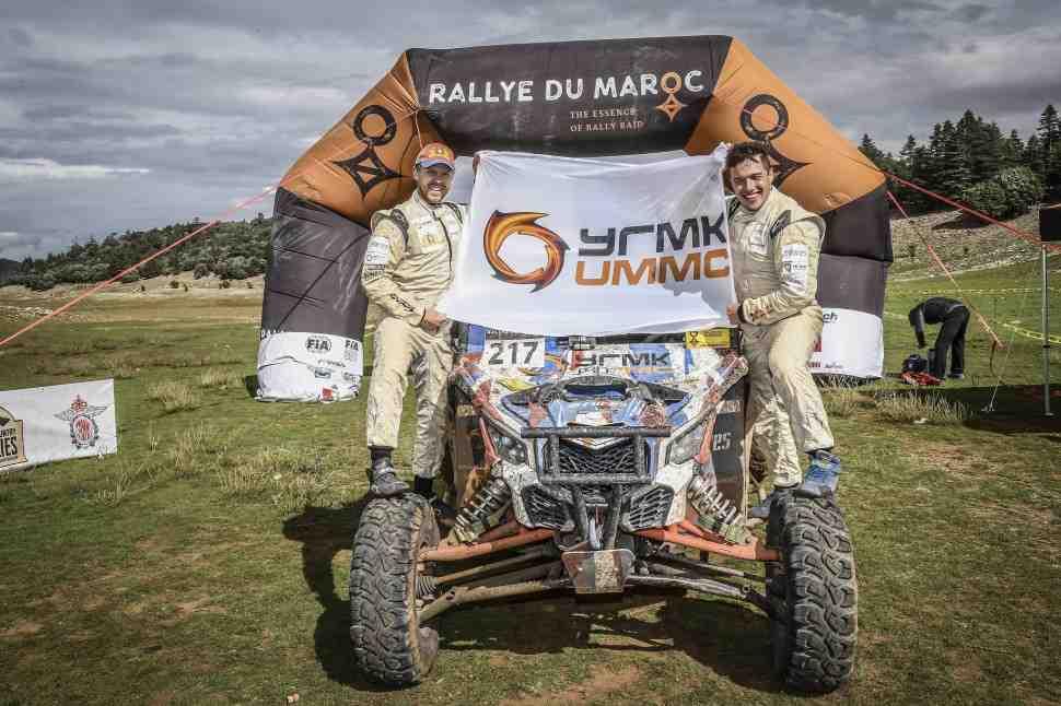 Сергей Карякин взял вторую победу на Ралли Марокко (Rallye du Maroc) 2018: результаты