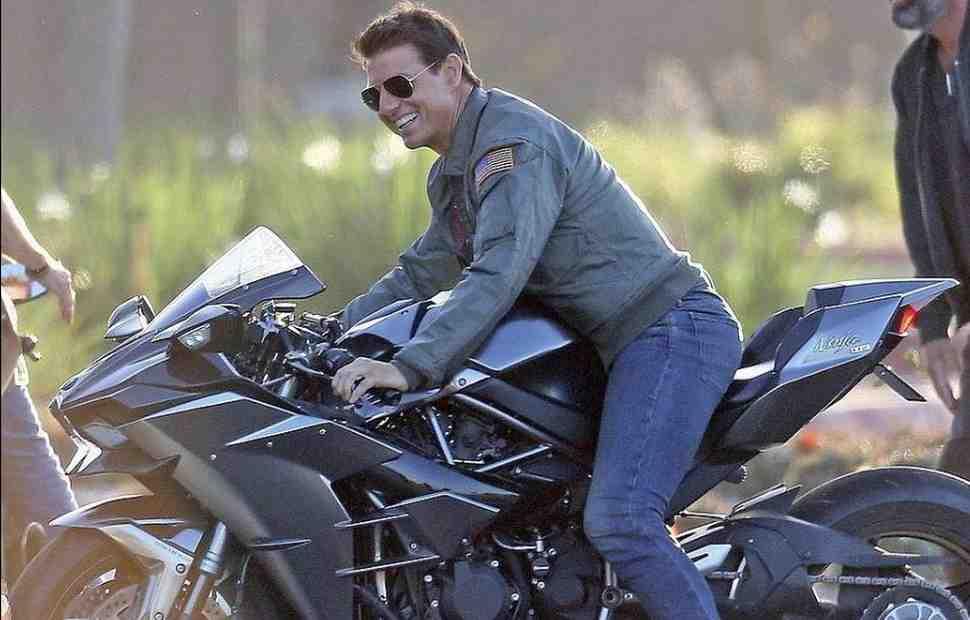 Том Круз вернулся за руль гипербайка Kawasaki в сиквеле TOP GUN: подробности