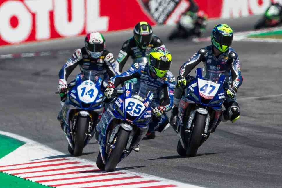 ����������� Yamaha R3 Cup ��������� ������ �� ������� � ����� 2021 ���� � ������ WorldSBK