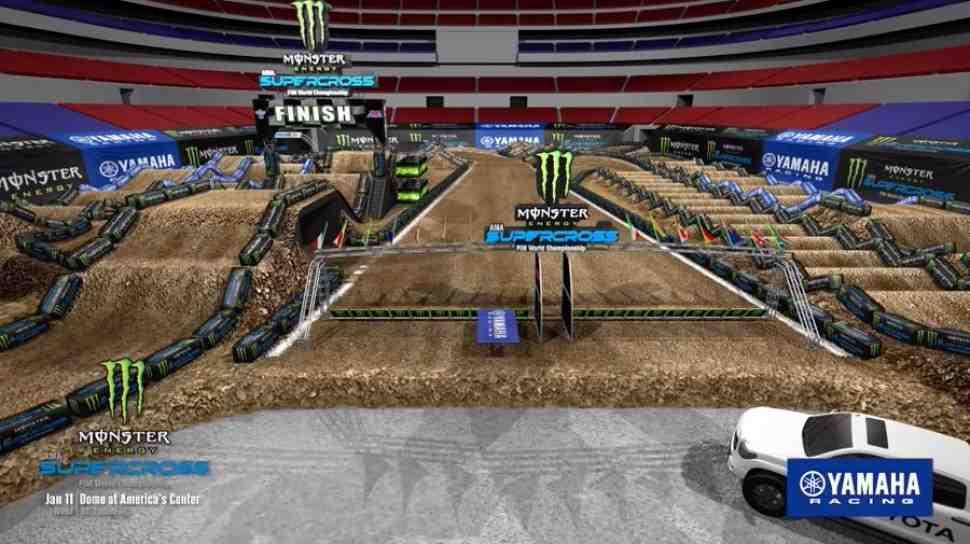 AMA Supercross 2020 - 2 этап: видео - круг по убойной трассе в Сент-Луисе