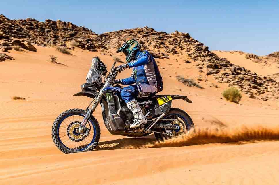 Дакар 2021: Yamaha больше не борется за подиум в зачете МОТО и теряет еще одного гонщика