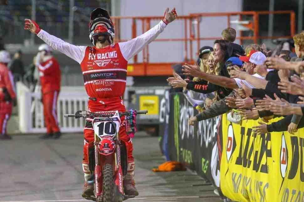 AMA Supercross: результаты 10 этапа ЧМ в Daytona