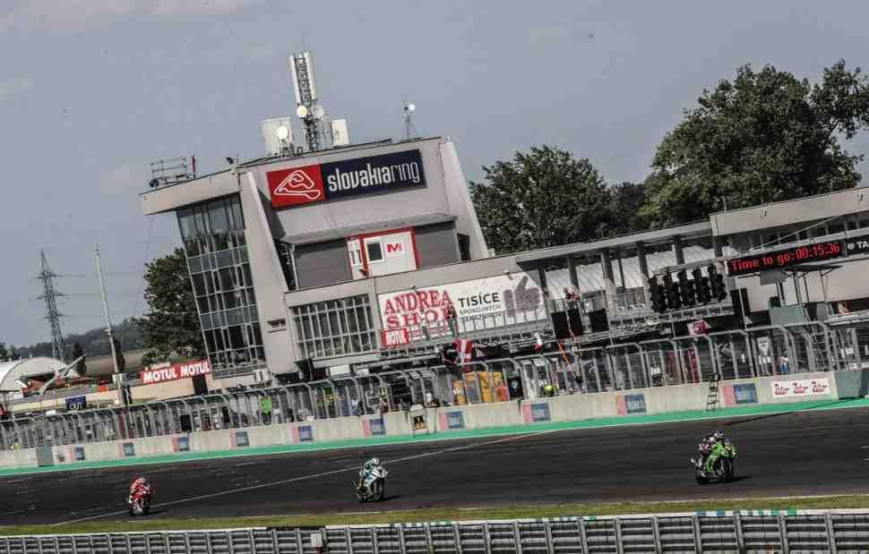 EWC: Чемпионат мира продолжается на Slovakiaring