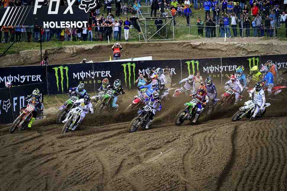 Мотокросс: результаты квалификаций Гран-При Ломбардии MXGP/MX2