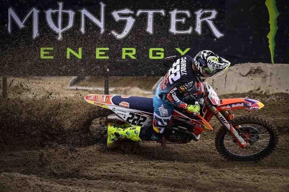 Мотокросс: видео квалификаций Гран-При Ломбардии MXGP/MX2