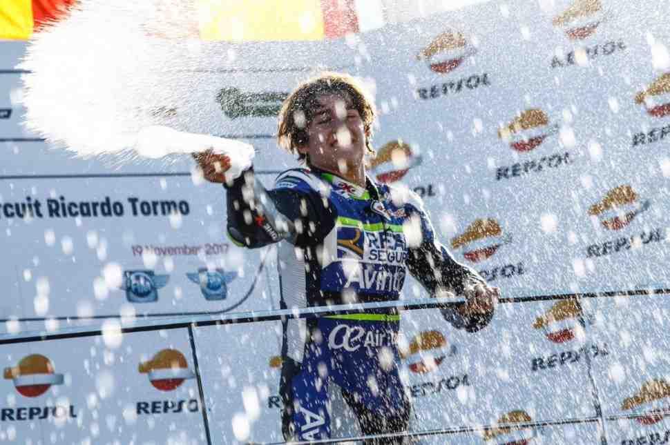 Трагедия на этапе CEV Moto3 в Монтмело