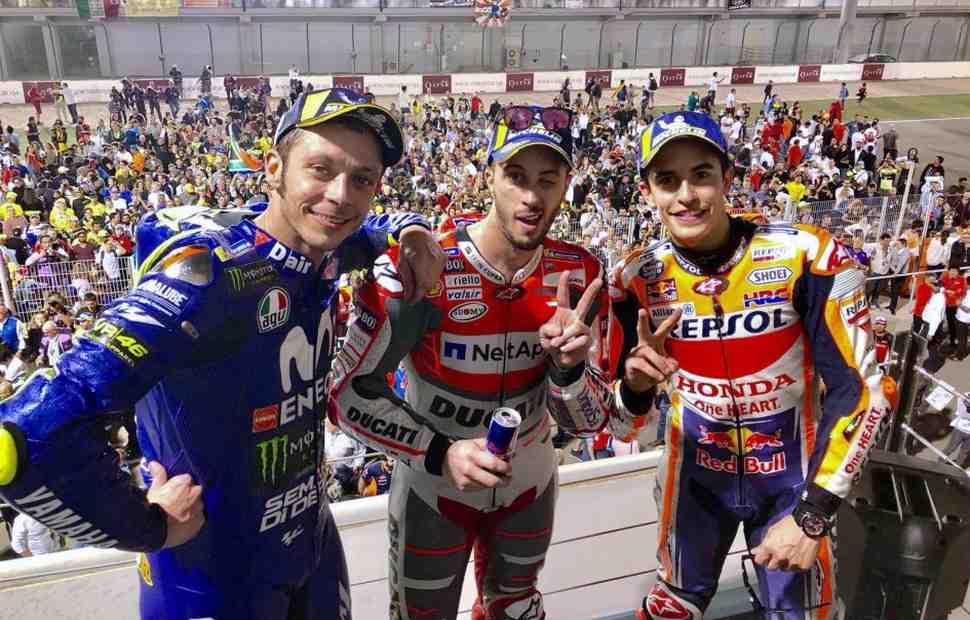Букмекеры про фаворитов MotoGP-2018