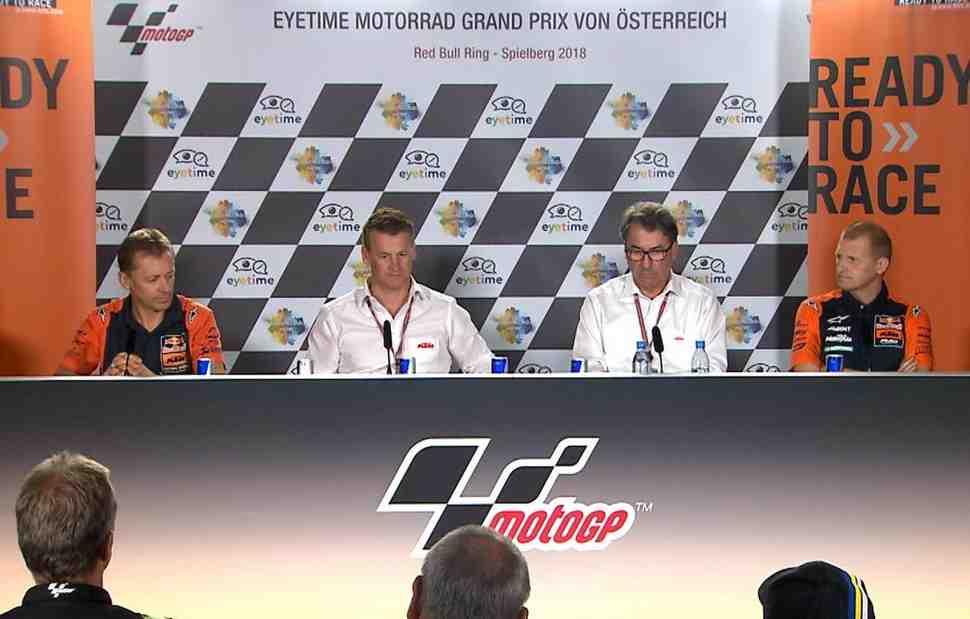Наступление на всех фронтах: KTM удваивает программу в MotoGP, Moto2 и Moto3