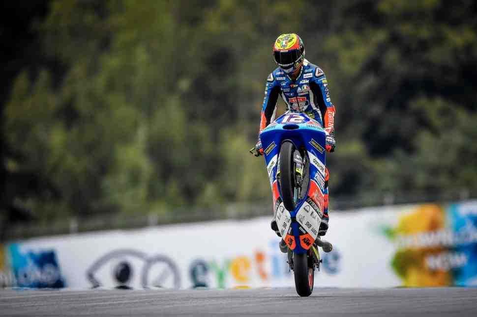 Moto3: Марко Беццекки выиграл квалификацию Гран-При Австрии