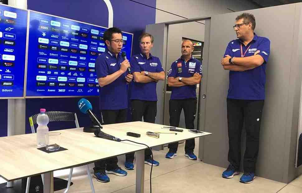 MotoGP: Yamaha Racing извинилась перед пилотами за неконкурентоспособность на Red Bull Ring