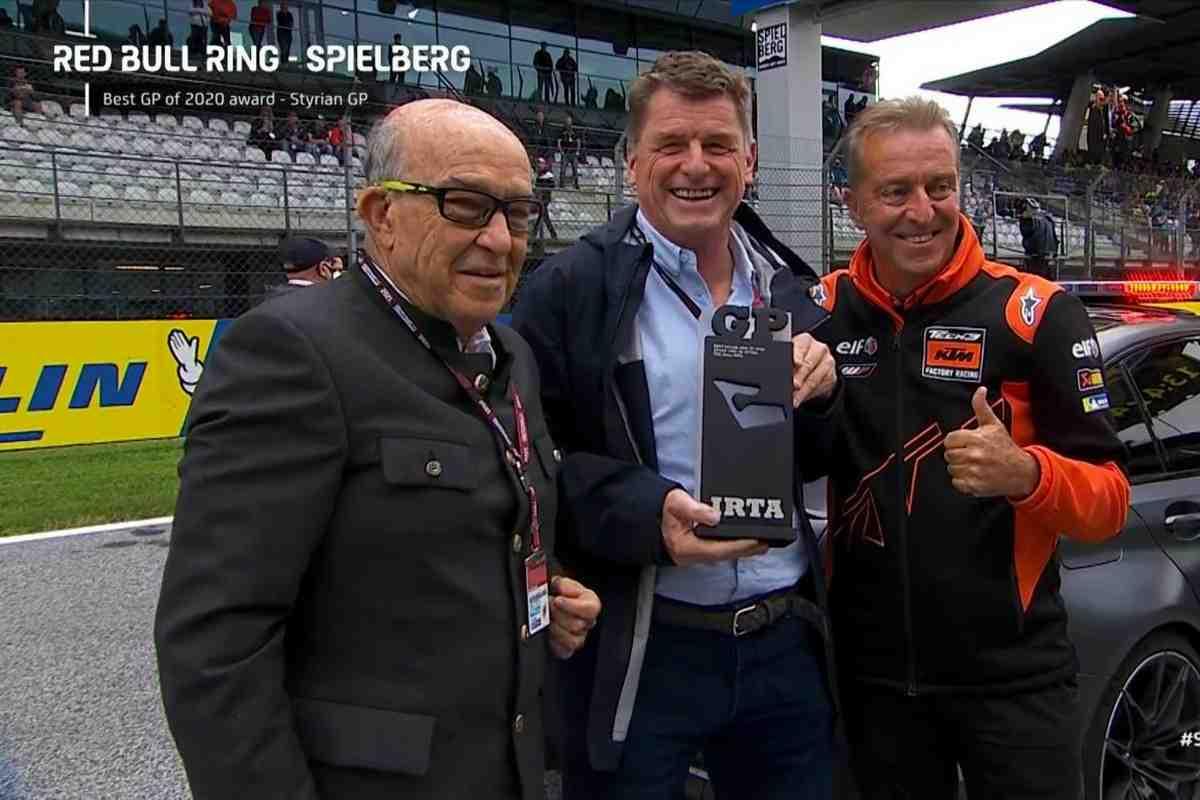 Red Bull Ring получил награду IRTA за вклад в развитие и как лучшее событие MotoGP 2020 года