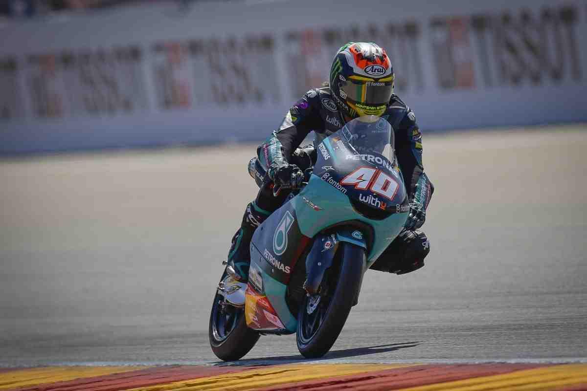Даррин Биндер выиграл квалификацию Гран-При Арагона в классе Moto3