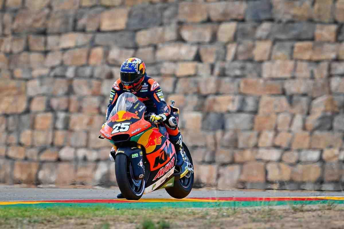 Рауль Фернандес возглавил рейтинг пилотов Moto2 перед стартом квалификации Гран-При Арагона