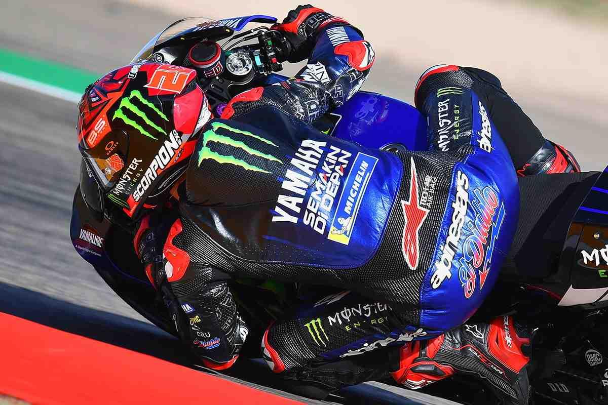 ТОП-4 пилотов MotoGP разделили 0.058 секунды по итогам FP3 Гран-При Арагона
