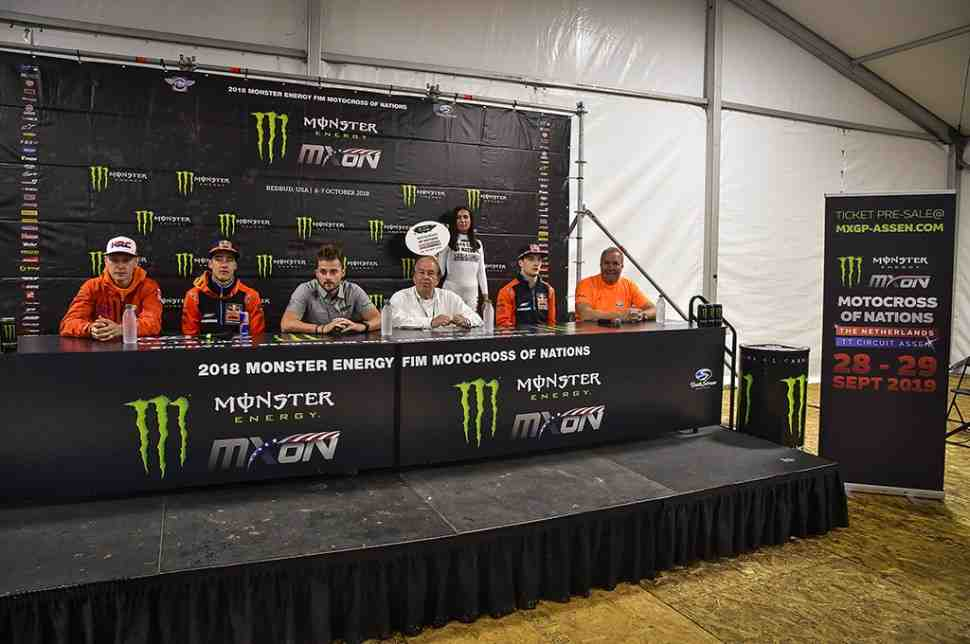Мотокросс Наций 2019 пройдет на Assen TT Circuit
