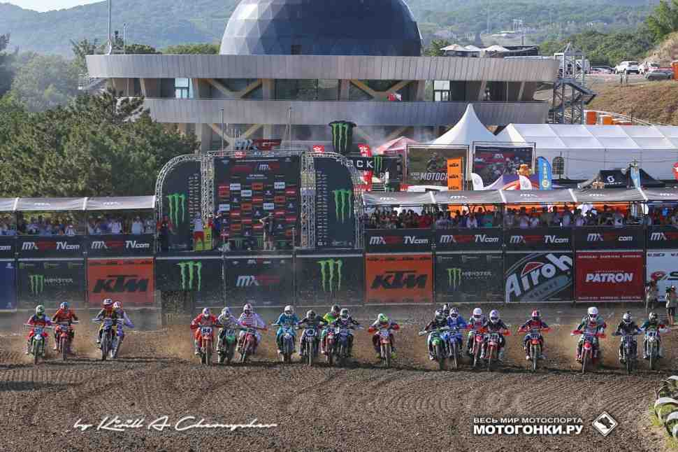 Мотокросс: Орленок и Igora Drive в календаре чемпионата Мира MXGP/MX2 2021