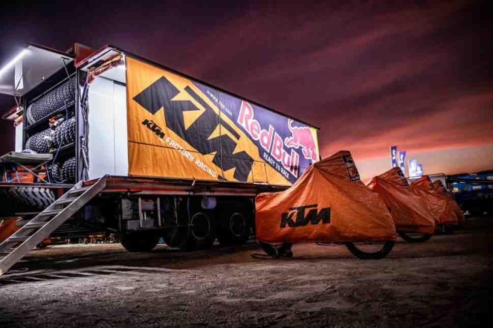 Дакар-2020: KTM 450 Rally против Honda CRF450 Rally - они возвращаются!