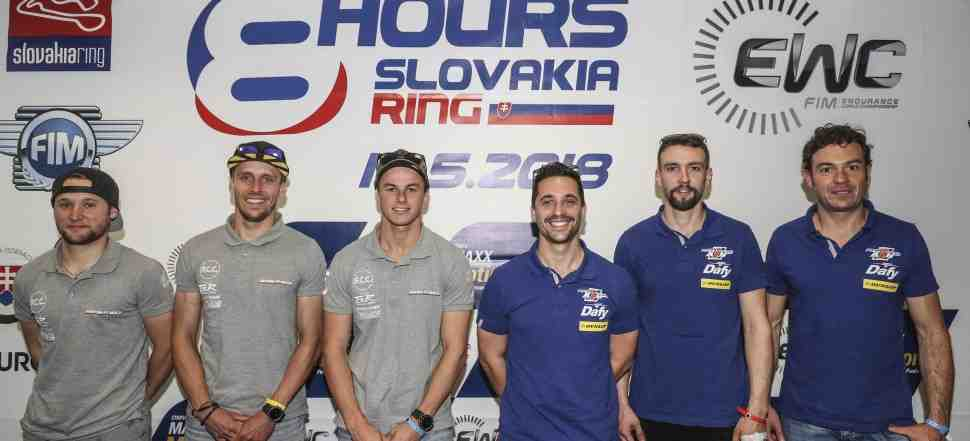 EWC: F.C.C. TSR Honda выигрывает поул-позицию 8 Hours of Slovakia Ring