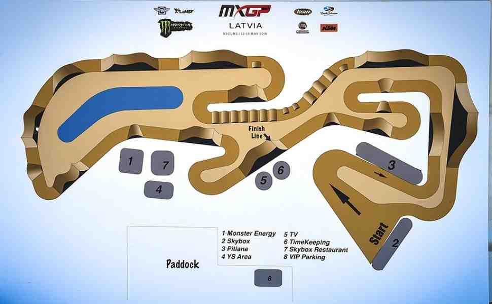 Мотокросс MXGP/MX2: результаты квалификации Гран-При Латвии