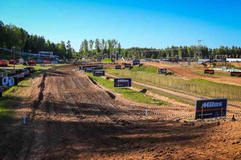 Мотокросс: расписание и онлайн хронометраж Гран-При Латвии MXGP/MX2