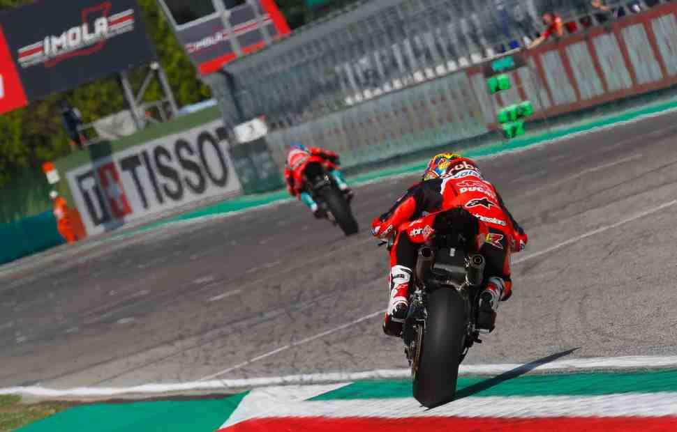 WSBK: Девис уверен в шансах Ducati для гонки в Имоле, но Рэй сделал шаг вперед на FP4
