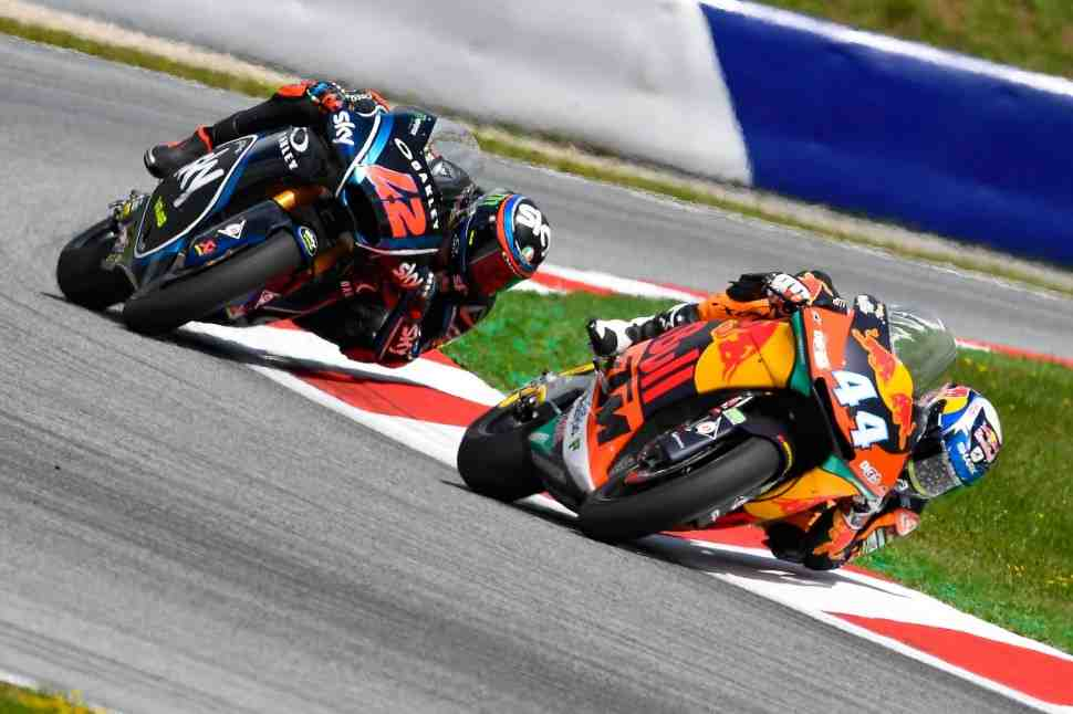 Moto2: Титульная битва на Red Bull Ring - Багная и Оливера, как Маркес и Довициозо
