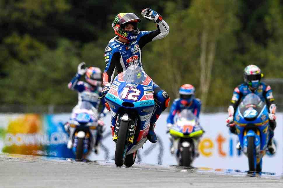 Moto3: KTM выигрывает домашнюю гонку на Red Bull Ring - Результаты Гран-При Австрии