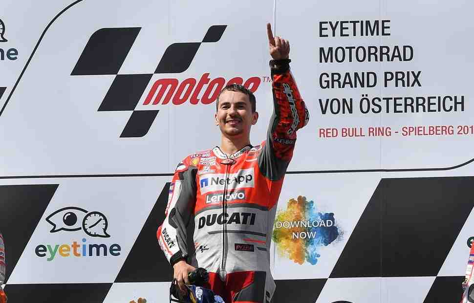 MotoGP: Red Bull Ring стал новой Землей Лоренцо