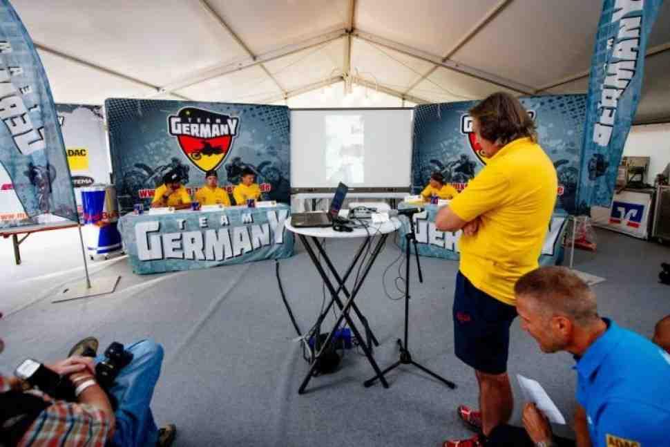 Мотокросс Наций 2019: сборная Германии
