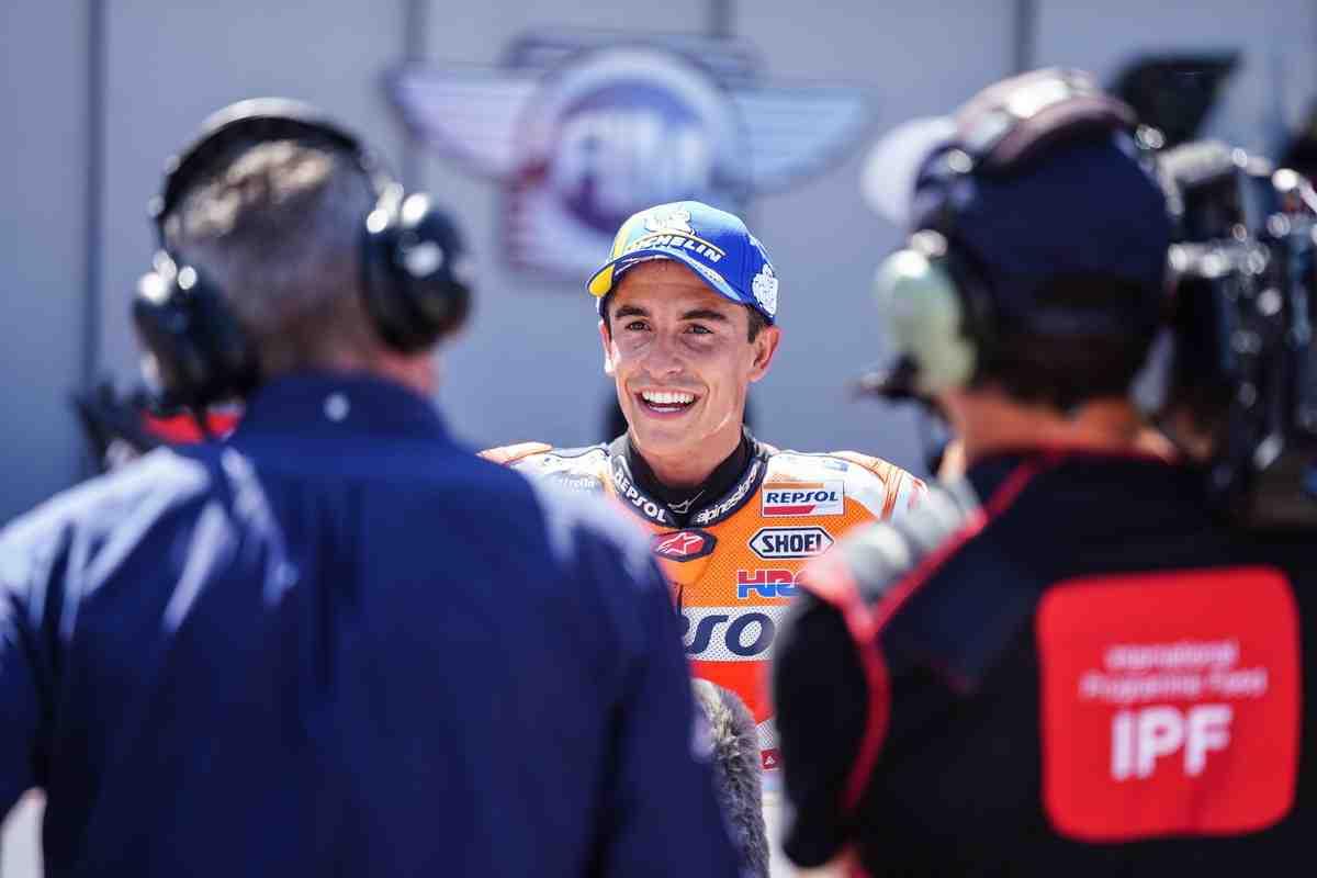 MotoGP: Марк Маркес - Пекко был великолепен, это как сражаться с Довициозо