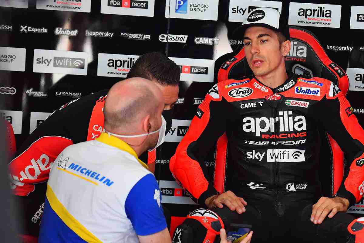 MotoGP: Маверик Виньялес - об Aprilia RS-GP, своем прогрессе и принципах пилотирования