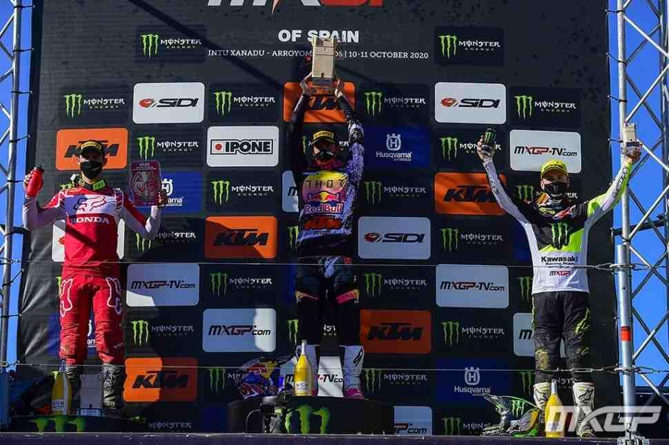 Мотокросс: результаты Гран-При Испании MXGP/MX2
