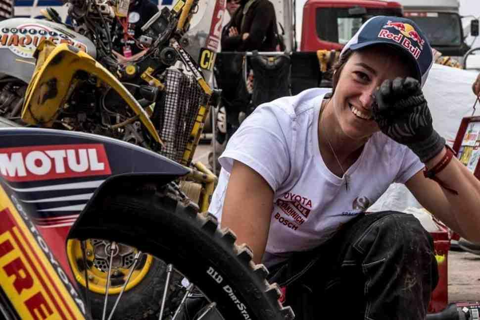 Husqvarna возвращается в лидеры Дакар 2019, Анастасия Нифонтова едет через боль после аварии