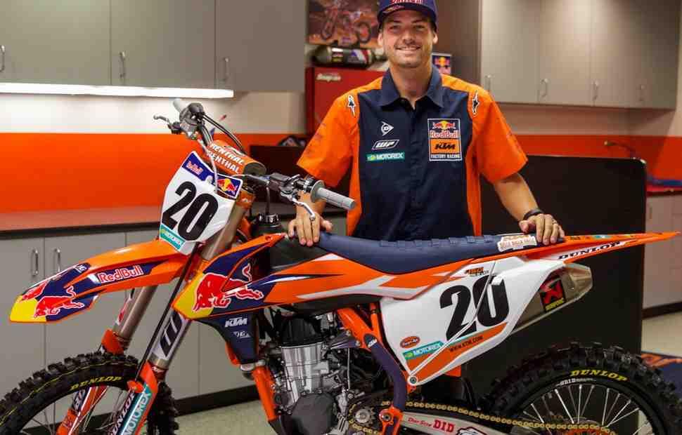 AMA Supercross: Гонщик заводской команды Red Bull KTM Брок Тайкл отстранен за допинг