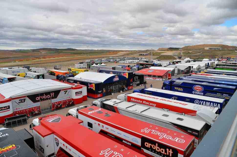 WorldSBK в Motorland Aragon: расписание прямых трансляций и прогноз погоды