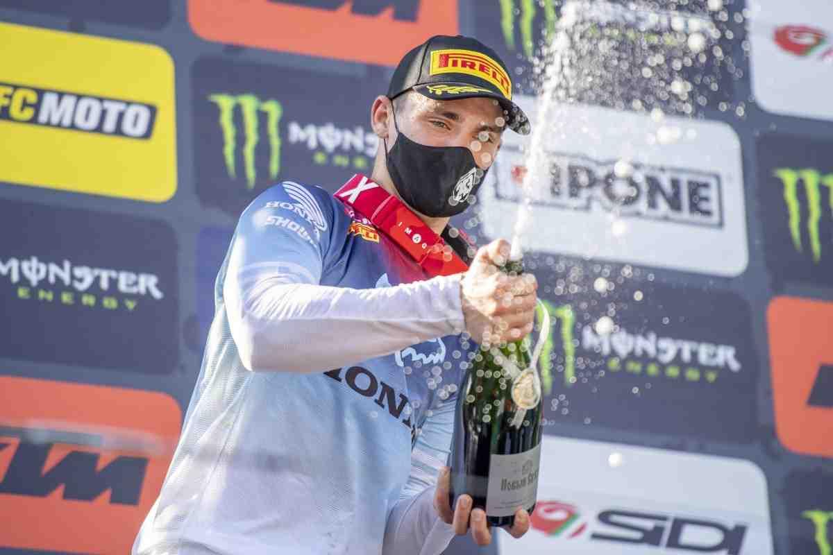 Видео: Лучшие моменты Гран-При России по мотокроссу MXGP - 1 гонка