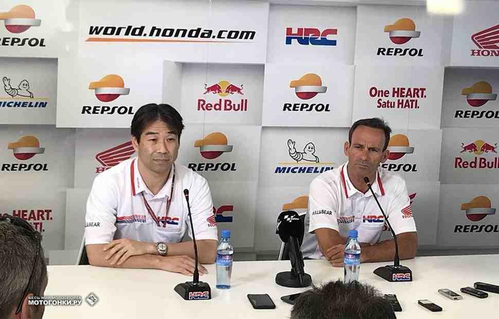 Большое интервью с боссами HRC о будущем команд Honda в MotoGP
