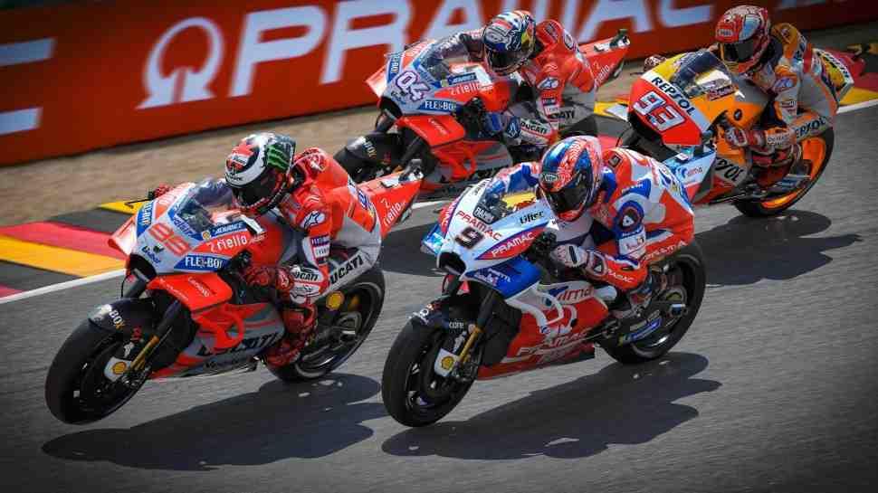 MotoGP: Хорхе Лоренцо возглавил первый день Гран-При Германии на Sachsenring