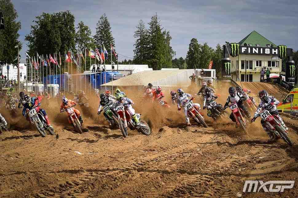 Мотокросс: Гран-При Риги - видео 4 этапа чемпионата Мира MXGP/MX2