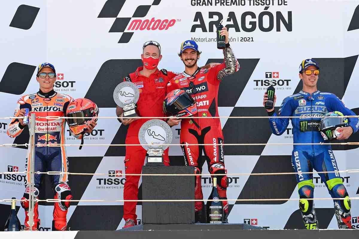 Ducati возвращается в ТОП Кубка производителей и берет курс на титул в личном зачете MotoGP