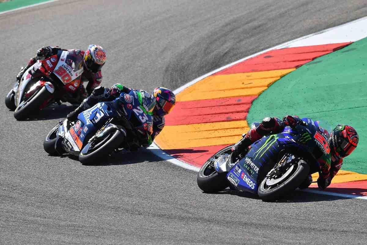 MotoGP: на AragonGP Куартараро подвела задняя покрышка, но... был ли мальчик?!