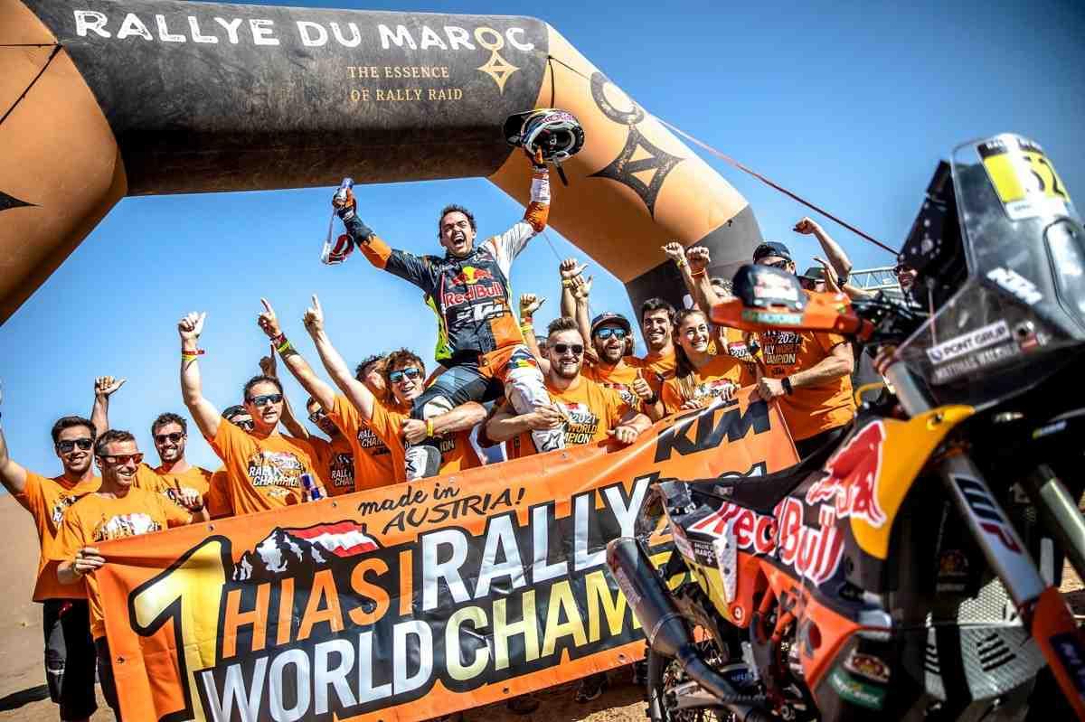 Маттиас Валькнер досрочно стал чемпионом мира по ралли 2021 года
