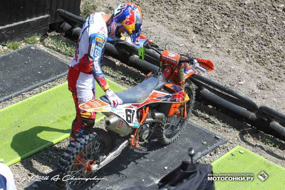 Мотокросс MXGP: Хорхе Прадо травмирован накануне сезона-2020