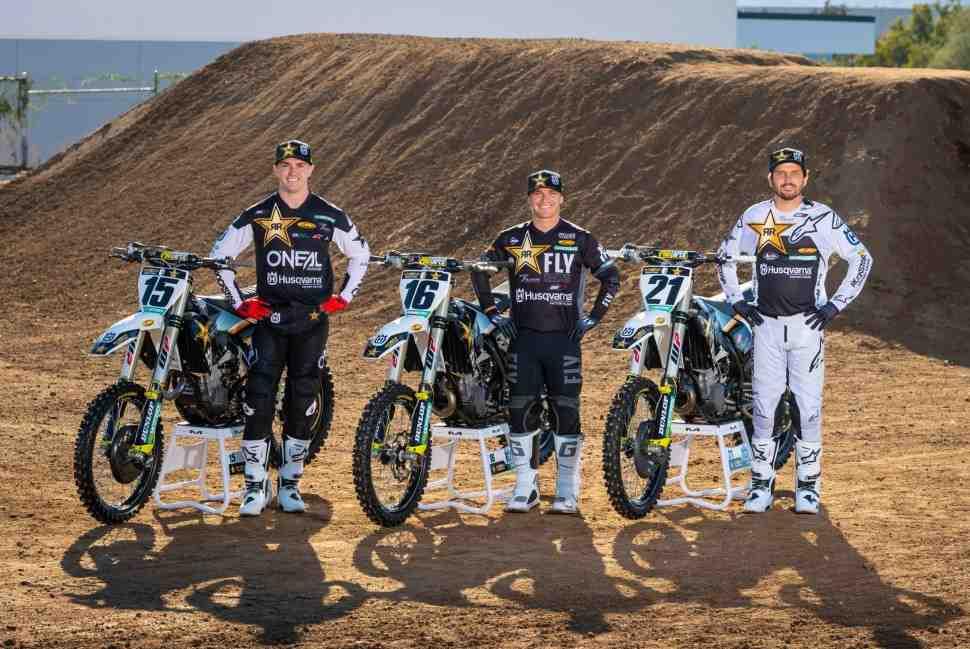 AMA Supercross: представлен официальный состав Rockstar Energy Husqvarna Factory Racing