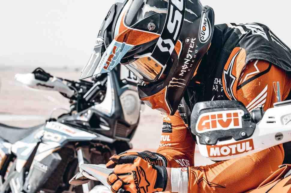 Honda потеряла еще одного претендента на подиум за день до финиша ралли Дакар 2021