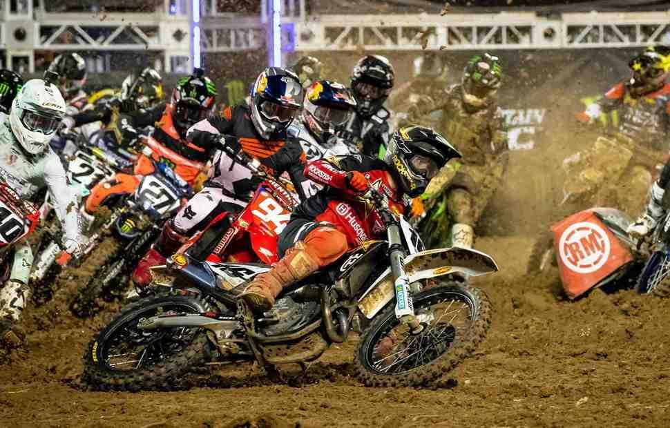 AMA Supercross: видео-обзор 7 этапа 450SX - Orlando 1
