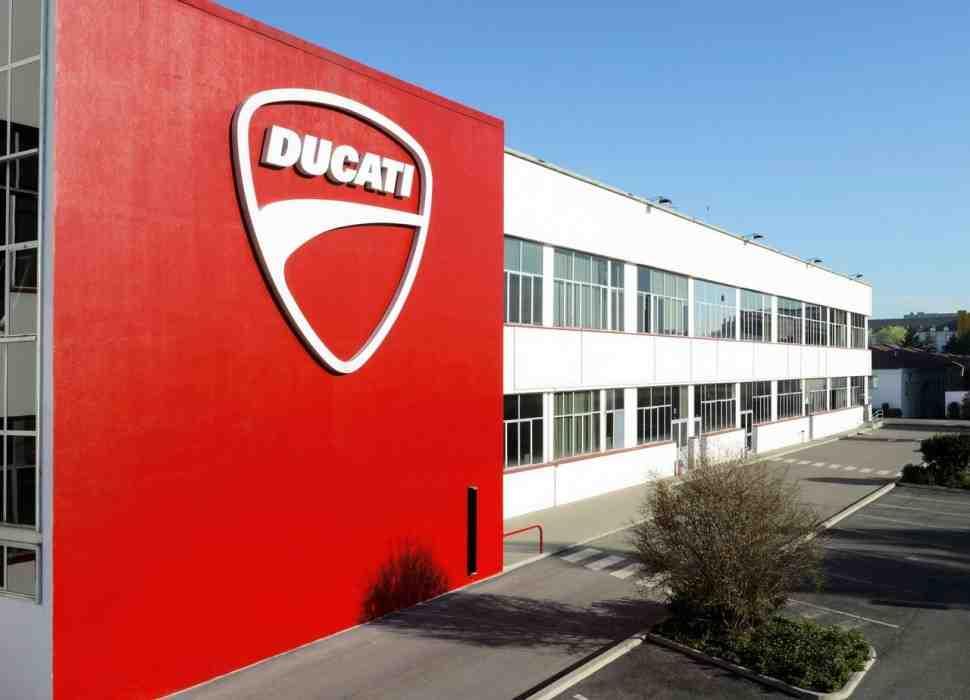Ducati закрыли из-за коронавируса
